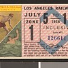 Los Angeles Railway weekly pass, 1936-07-05