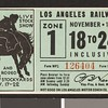 Los Angeles Railway weekly pass, 1934-11-18