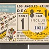 Los Angeles Railway weekly pass, 1935-12-08