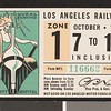 Los Angeles Railway weekly pass, 1934-10-07