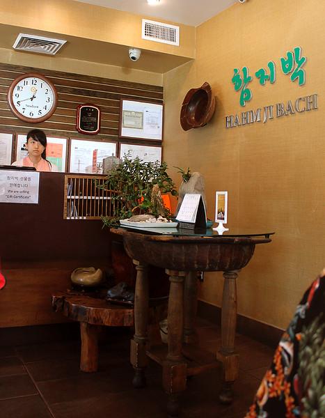 Hahm Ji Bach front desk