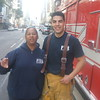 Fire downtown with Squad 4
