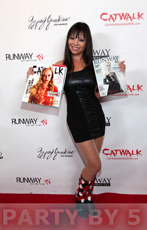 Runway Magazine Celebrates Launching of Catwalk Magazine during LA Fashion Week