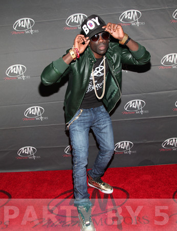 Sam Sarpong Celebrates LA Fashion Week by Launching T-Shirt Collection by iVogue on October 18, 2012