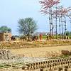 Brick kiln in Pattoki, Lahore