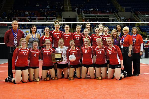 2011 State VB Tournament