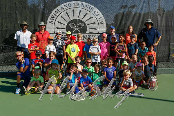 CHILDREN TENNIS CLINICS 08-15-2016
