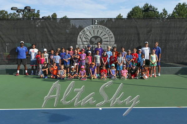 Tennis and Swimming Camp 08-15-2017