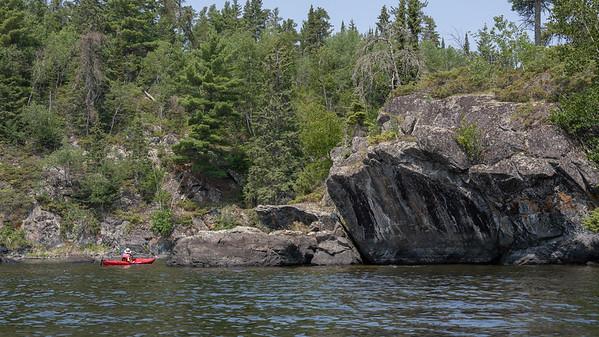 Kayaking with Linda