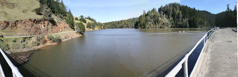 ALPINE LAKE AT DAM PANO