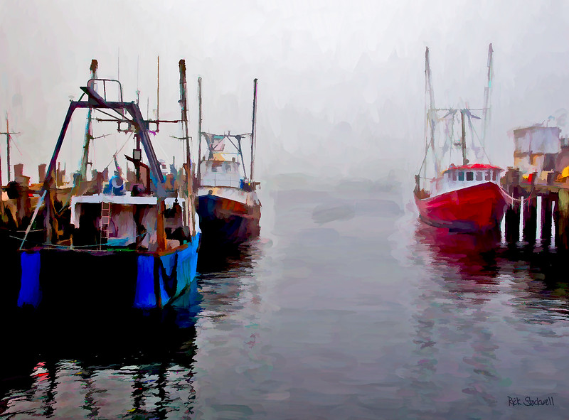 Provincetown, Mass Fishing boats #2
