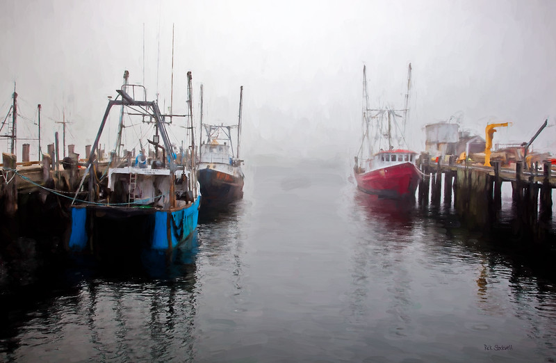 Provincetown, Mass Fishing boats