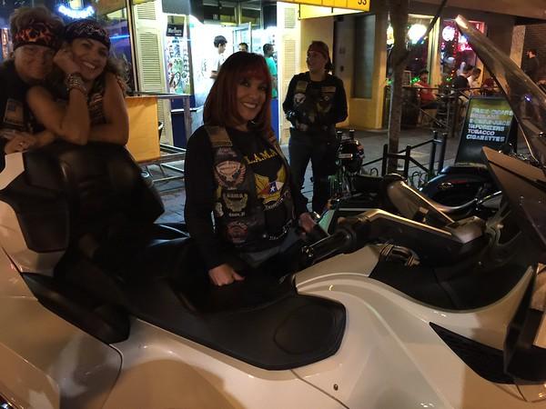 Damas de LAMA Night Ride 2014