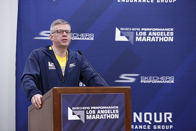 Press conference for the Skechers Performance Los Angeles Marathon 2018