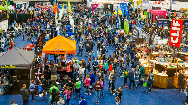 2018 Los Angeles Marathon Expo at the LA Convention Center.  ©2018 Rich Cruse/ Los Angeles Marathon