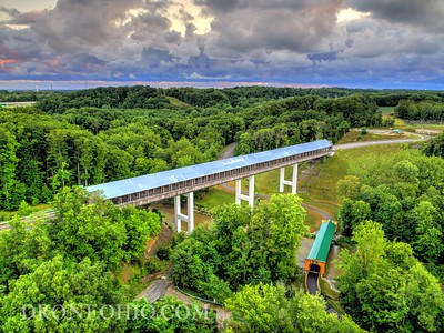 SMOLEN-GULF COVERED BRIDGE, ASHTABULA COUNTY, OHIO