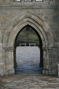 I particularly like this photograph -- the dof and true color on the opposite side of the arches.