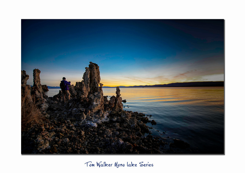 Lonely Shooter at Mono Lake  - Tom Walker Photography