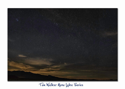 Mono Milky Way - at 6 AM it was about 29 degrees and although the camera saw this for the rest of us it was black outside. This was a 18 second exposure. You really need to open it in as large of a view possible to appreciate it!  - Tom Walker Photography