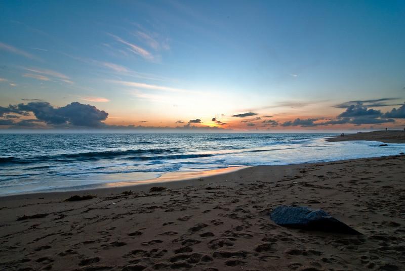 Sunset Hualalai Hawaii July 2009