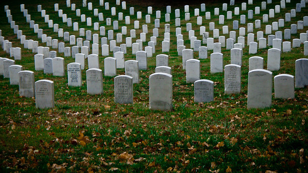 Arlington National Cemetary, Washington DC November 2007