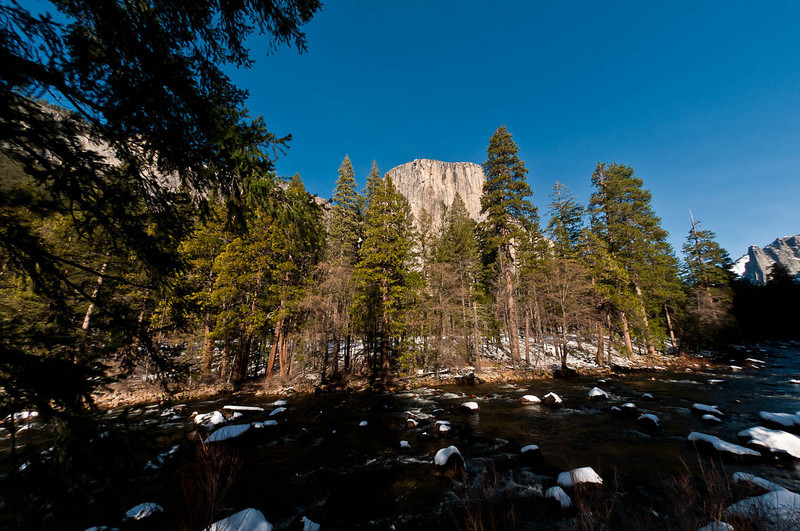 El Cap from the Merced River. 10.5mm f2.8 ISO 200
