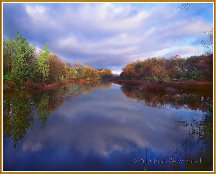 Sudbury River, Ashland, Massachusetts. May 1991 cat. JW 0400