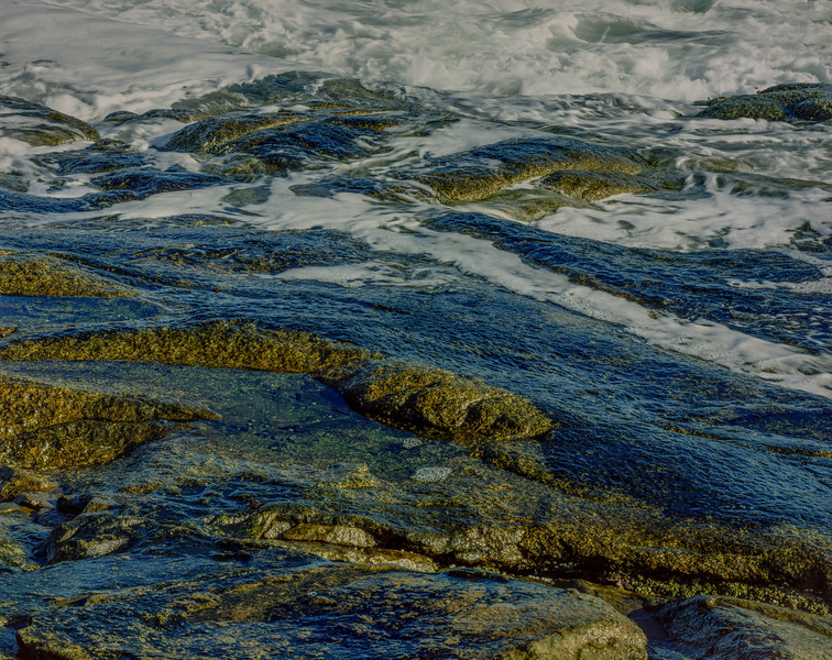 Surf on Rocky Shore III