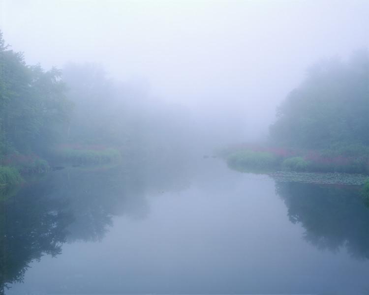 Sudbury River In Fog