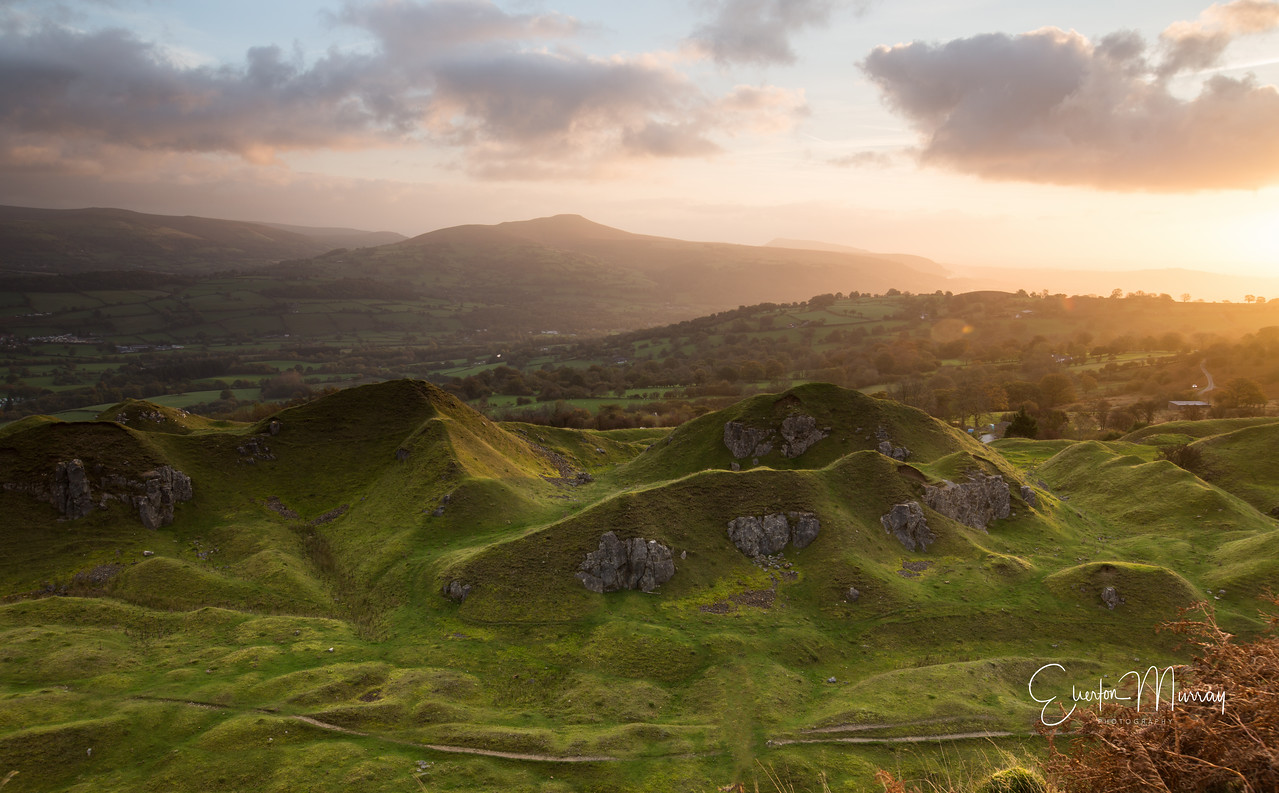 Llangattock Escarpment sunrise 2