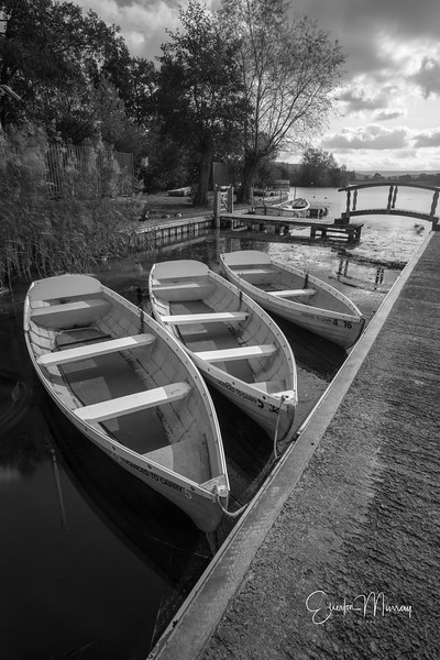Llangorse lake, boats for hire