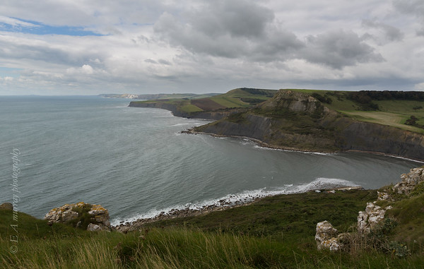 Emmetts hill overlooking st Aldhelms head