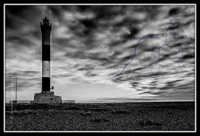 Halloween lighthouse