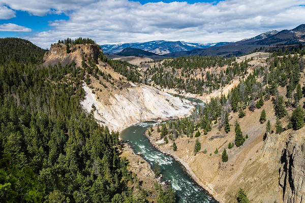 The Yellowstone River, Yellowstone National Park