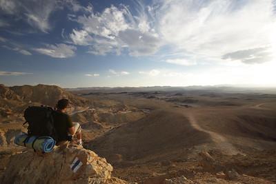 Ramon Crater overlook from Mt Ardon  תצפית על מכתש רמון מהר ארדון