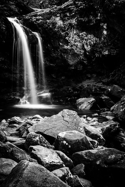 Grotto Falls in the Great Smoky Mountains National Park