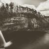 Desoto falls, in the desoto state park, Alabama.