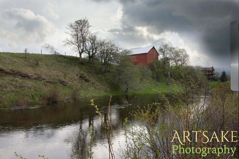Red Barn West Virginia - Version 2