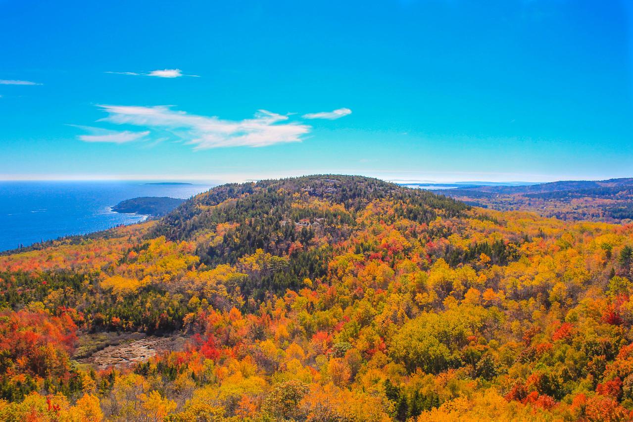 Autumn at Acadia National Park Maine