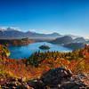 2016.78 - Slovenia V - Pano - LakeBledOjstricaView