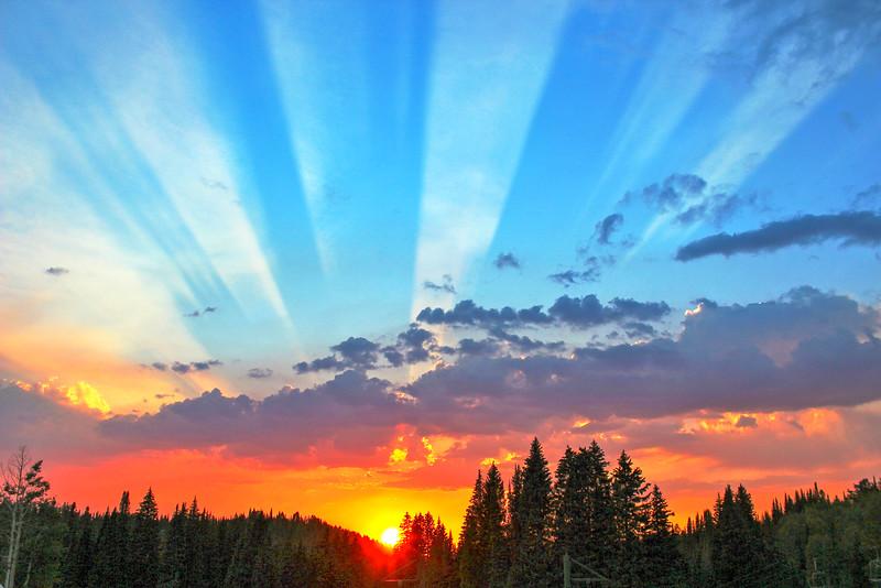 Targhee Sunsets