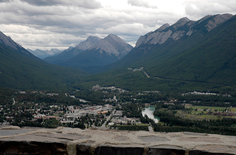 Mount Norquay view<br /> Banff