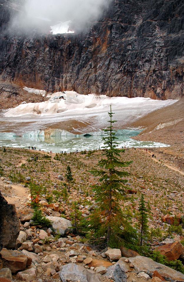 Ghost Glacier + Cavell Pond & Glacier<br /> Jasper National Park
