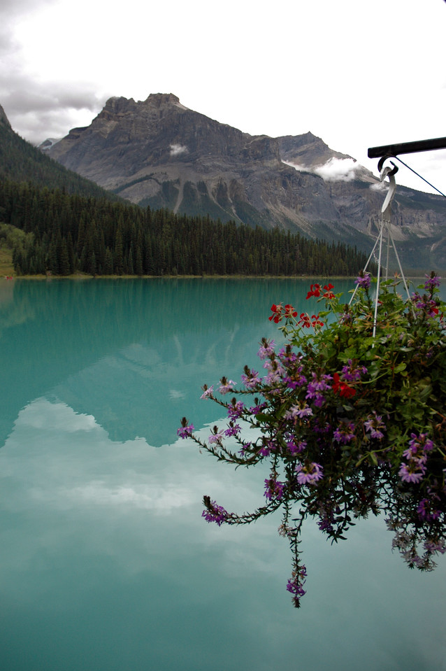 Emerald Lake, Mount Field, Burgess Shale<br /> Yoho National Park, BC