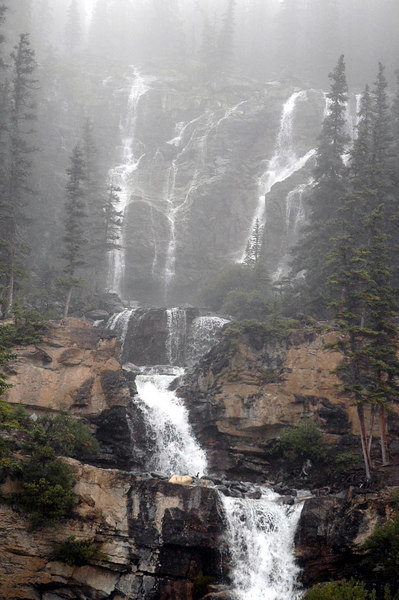 Tangle Creek Falls<br /> Jasper National Park