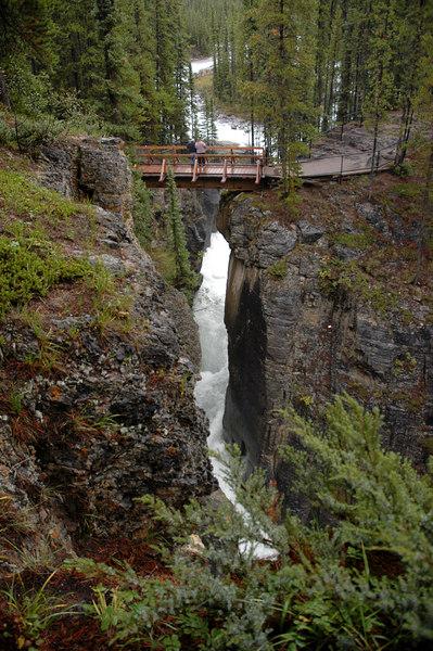 Sunwapta Falls<br /> Jasper National Park