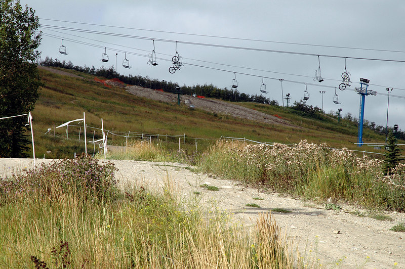 Canada Olympic Park chairlift<br /> Calgary