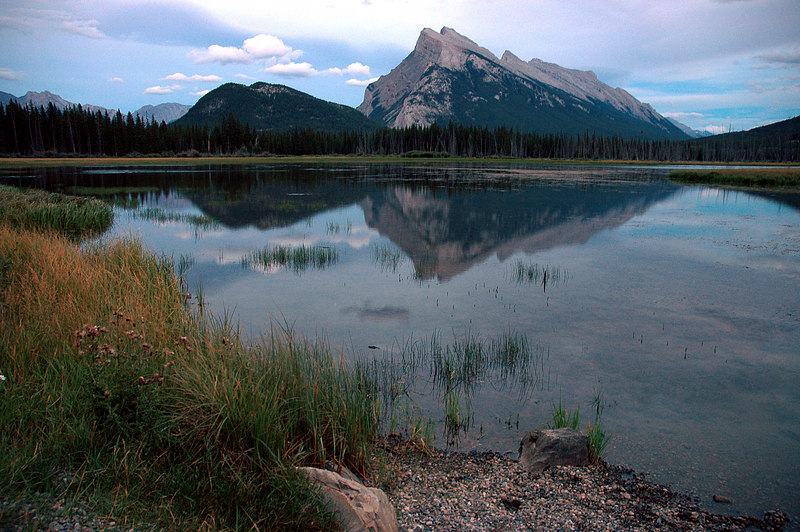 Mount Rundle & Vermilion Lakes<br /> Banff National Park