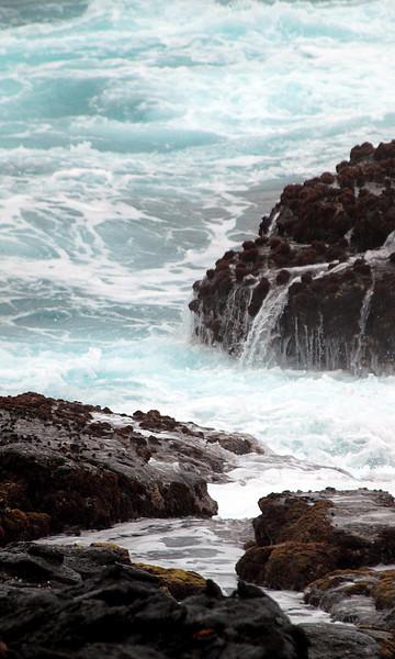 surf crashing into Punta Suarez-Espanola Island-Galapagos 12-16-2007