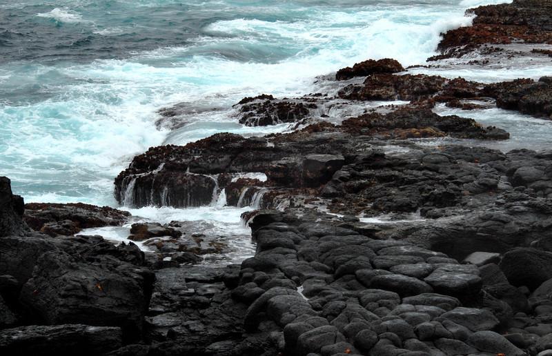 lava meets ocean-Punta Suarez-Espanola Island 12-16-2007
